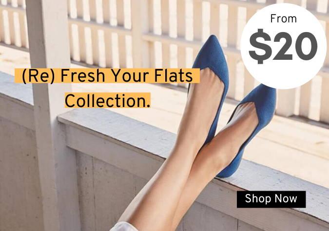 Women's Flats From $20