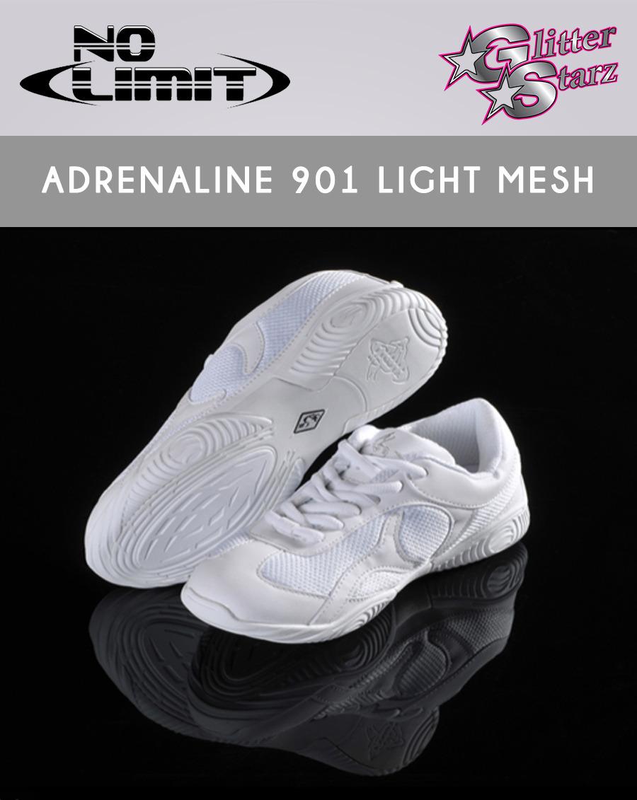 526fec538556b adrenaline cheer shoe light mesh no limit glitterstarz
