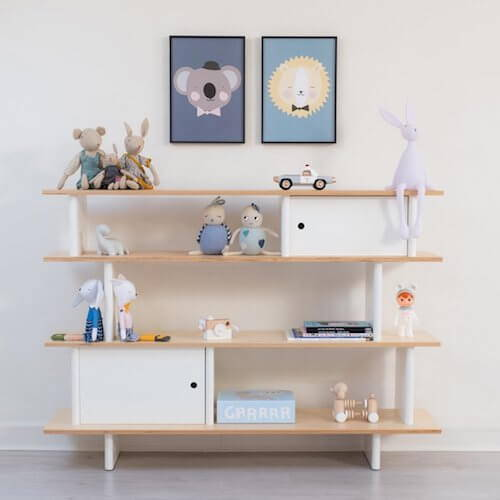 Kids & Nursery Decor - Kids Shelving