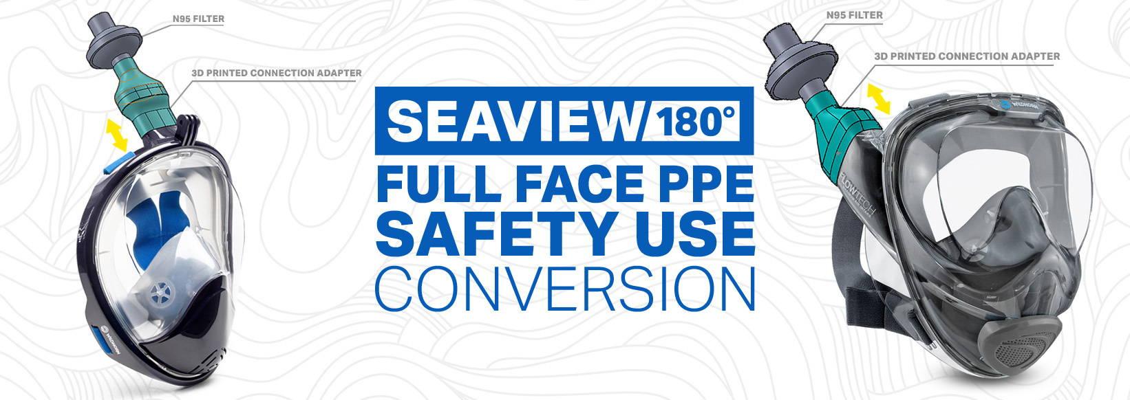 N95 respirator full face mask