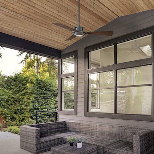 Modern Forms Smart Fans Osprey Outdoor Ceiling Fan