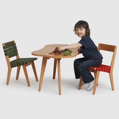 Knoll Risom Child's Amoeba Table