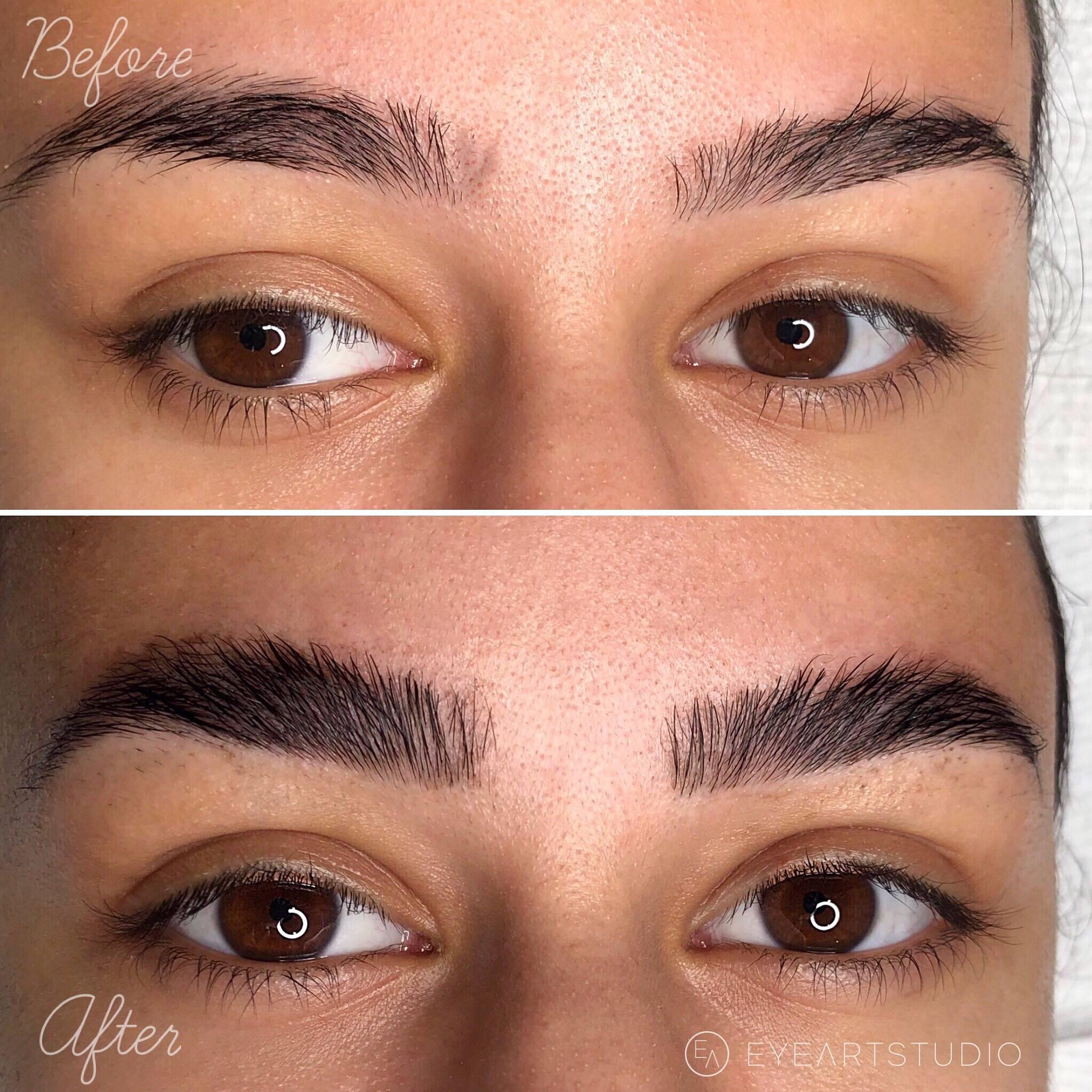 Brow Lamination Eyebrow