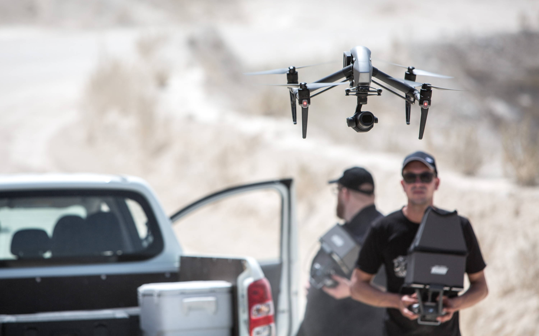 test drone hubsan h501s pro