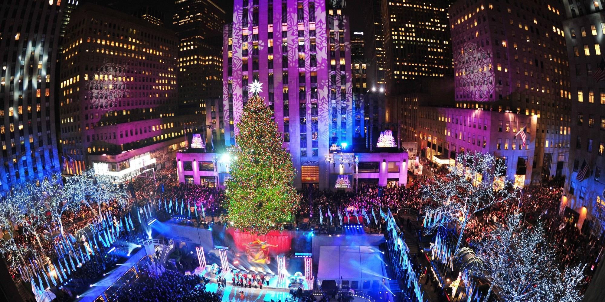 Wann Wird In New York Der Weihnachtsbaum Aufgestellt.Weihnachten In New York Die Schönsten Beleuchtungen Und
