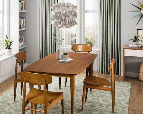 Saloom Cona Extension Dining Table