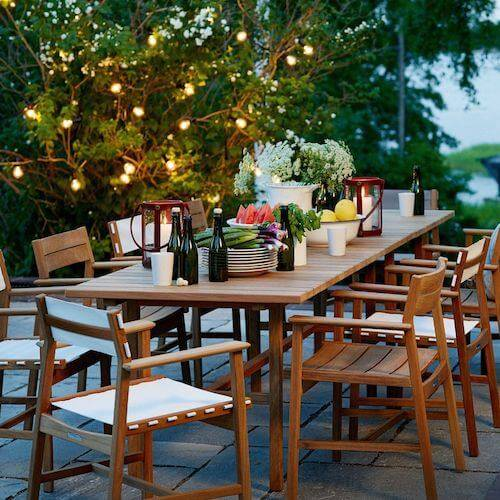Modern Tables - Outdoor Dining Tables