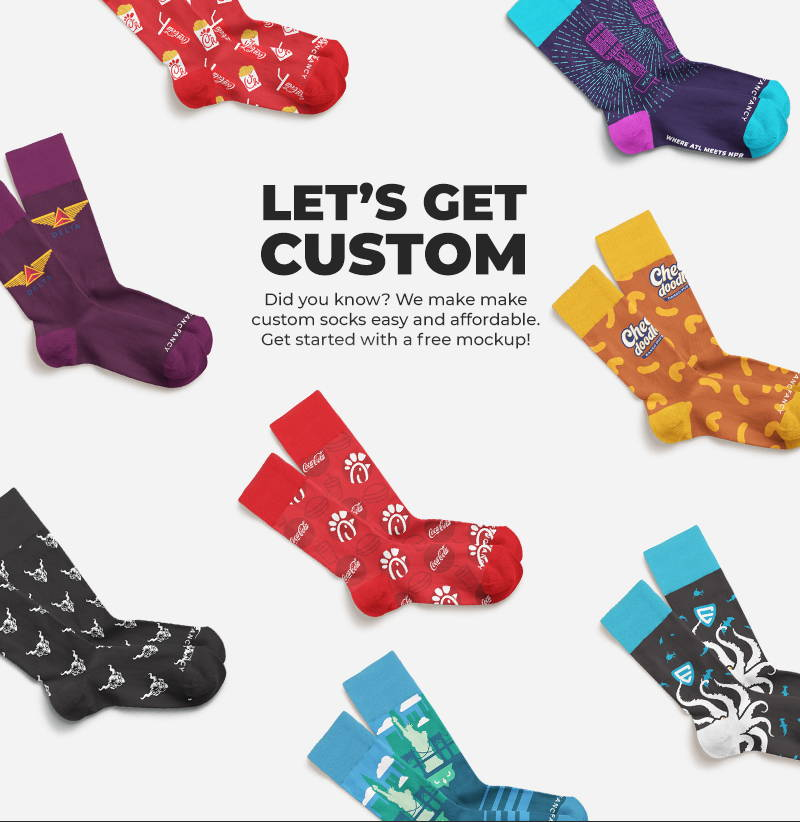 99141f292695 Custom Socks