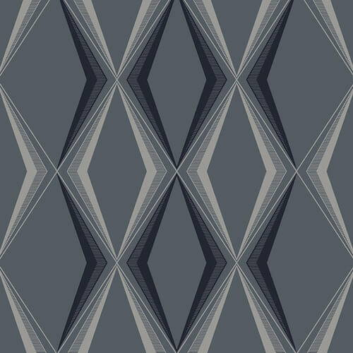 Graham and Brown Vintage Deco Diamond Wallpaper