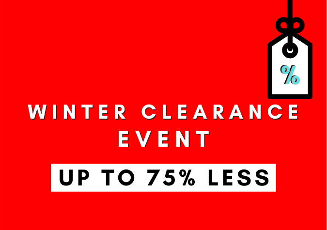 Winter Clearance Event Starts