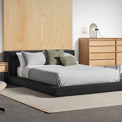 Blu Dot Bedroom including beds, dressers, nightstands