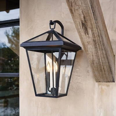 Outdoor lighting on sale including wall lights