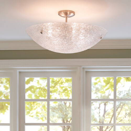 Modern Ceiling Lights - Semi Flush Mounts