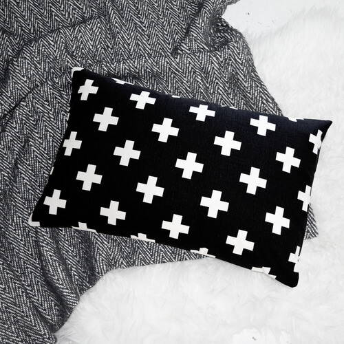 Ollie & Lime Cross Pillow