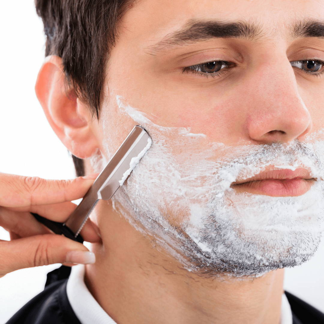 Shaving Against the Grain with Straight Razor