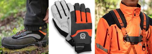 Persönliche Schutzausrüstung für die Arbeit mit der Motorsense zum BestPreis kaufen bei MotorLand.de