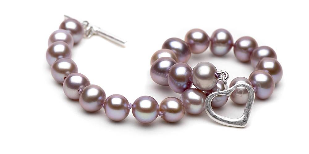 Pearl Colors: Deep Lavender Freshwater Pearls