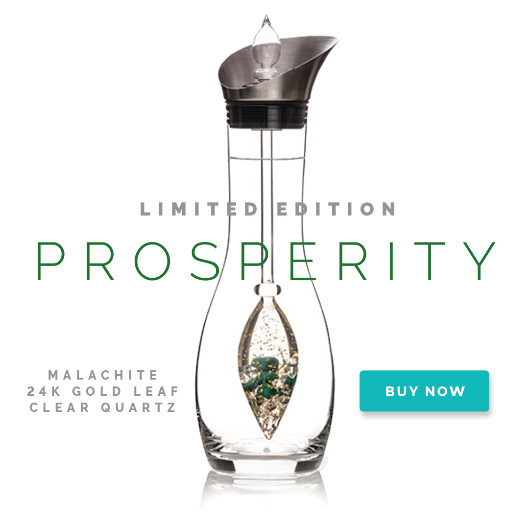 Prosperity Limited Edition Gem-Water Vial