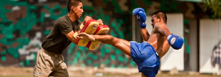 Experience an authentic Muay Thai training class in Thailand