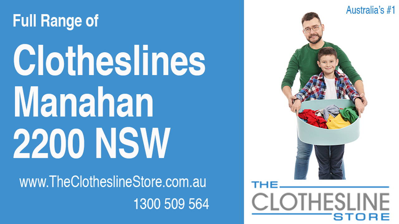 Clotheslines Manahan 2200 NSW