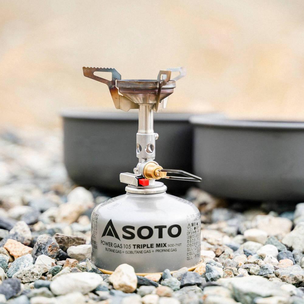 SOTO(ソト)/マイクロレギュレーターストーブ ウインドマスター/シルバー
