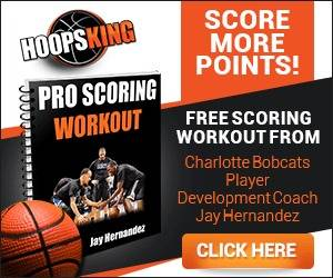 Hoopsking Free Scoring workout