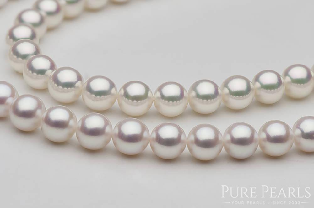 Akoya Pearl Shape: Round Pearls