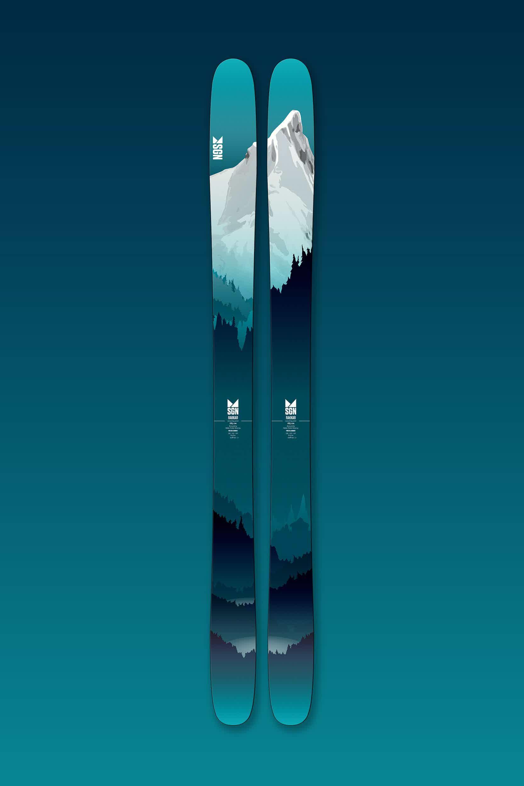 sgn skis Rakkar All mountain ski for bakke og topptur