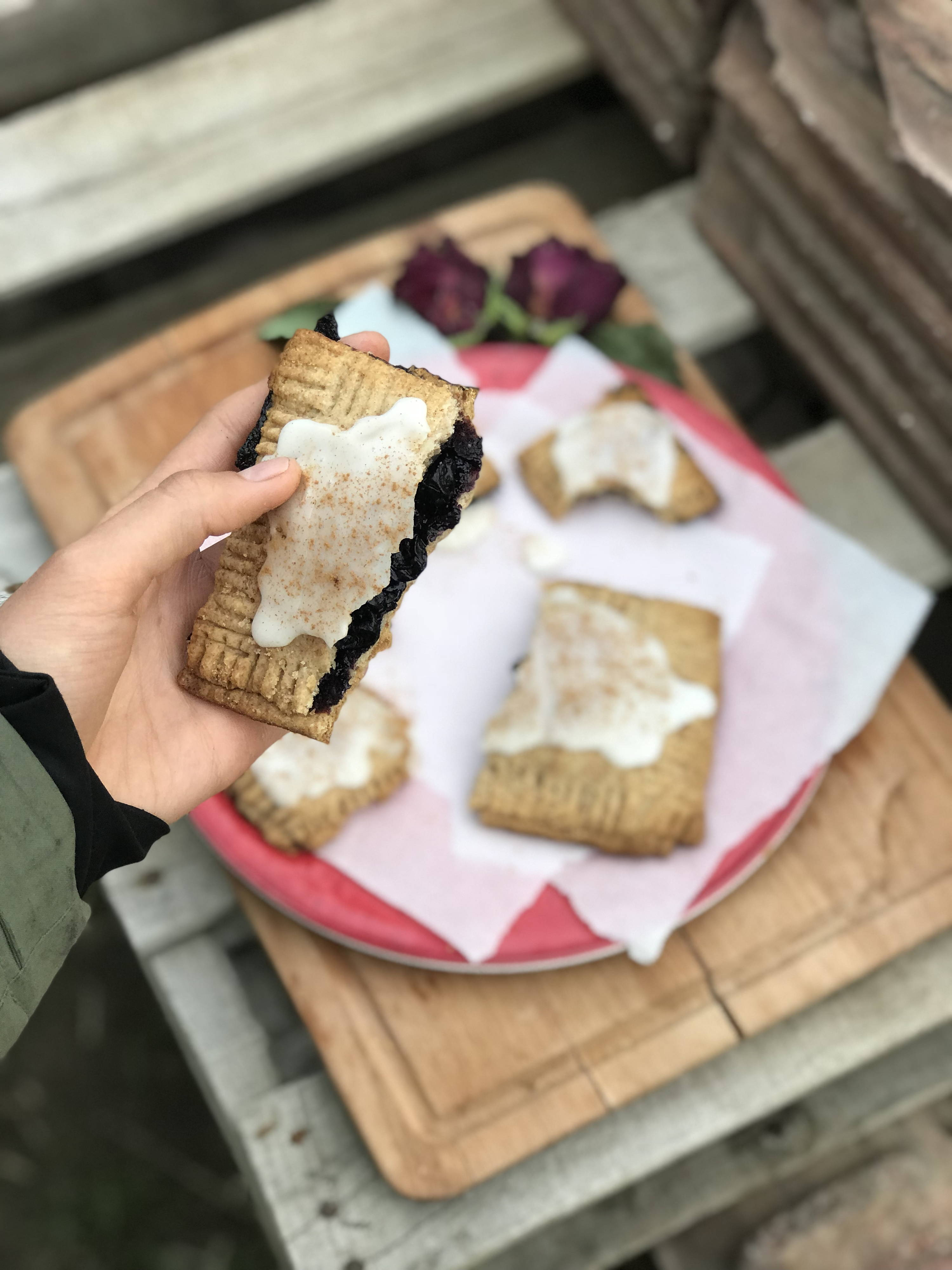 Super Simple Herb Infused Vegan Pop Tarts