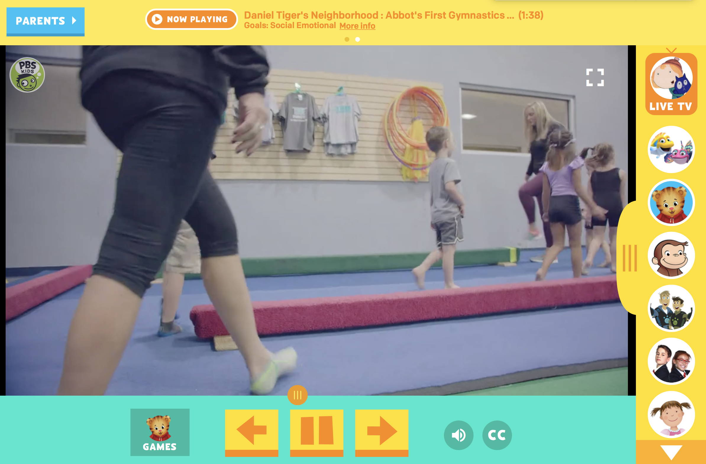 Gymnastic Class