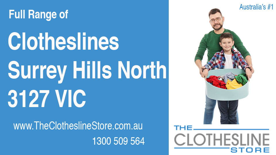 New Clotheslines in Surrey Hills North Victoria 3127