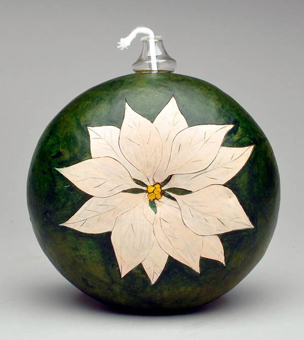 Gourd art by Kelsey Nelson