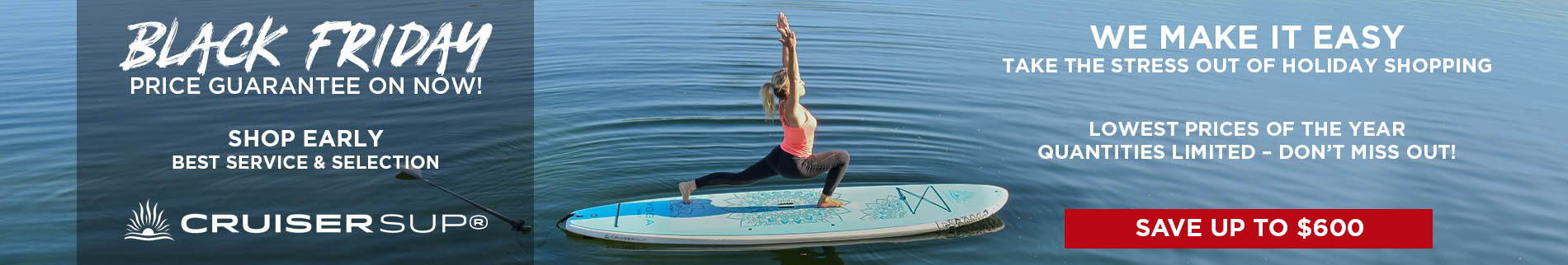 Women's Paddle Boards | Clearance Sale | Cruiser SUP Yoga Mat Feather-Lite