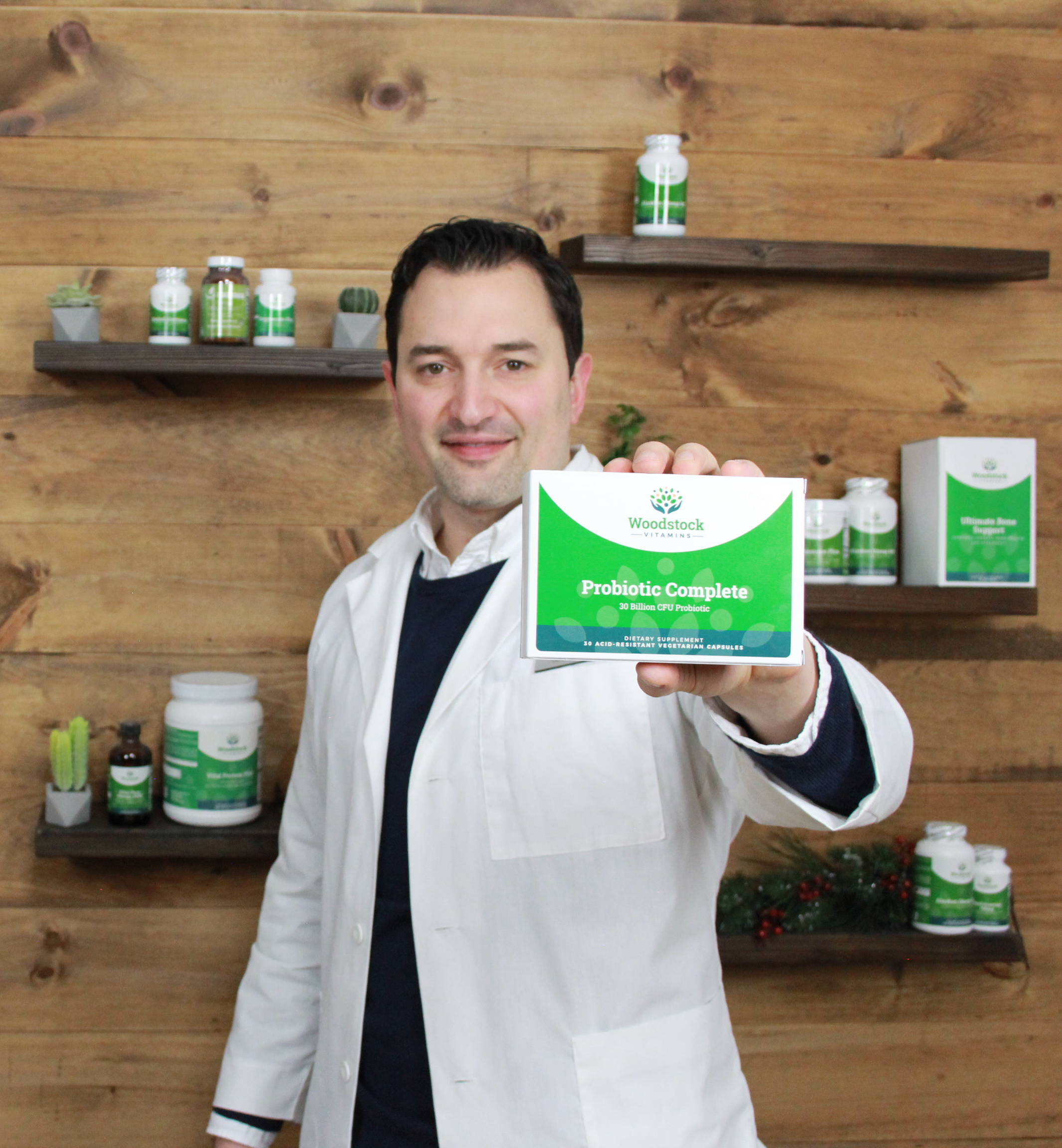 Dr. Neal with Probiotic Complete