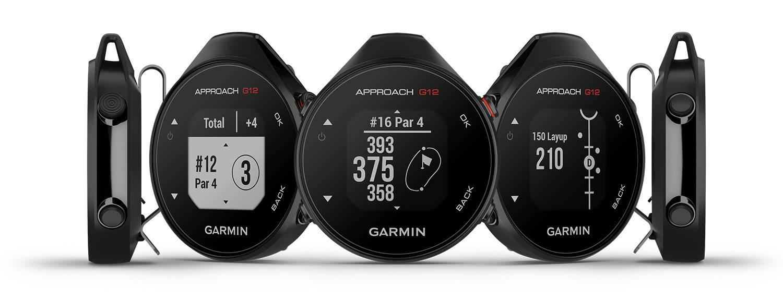 Garmin Approach G12 handheld golf GPS