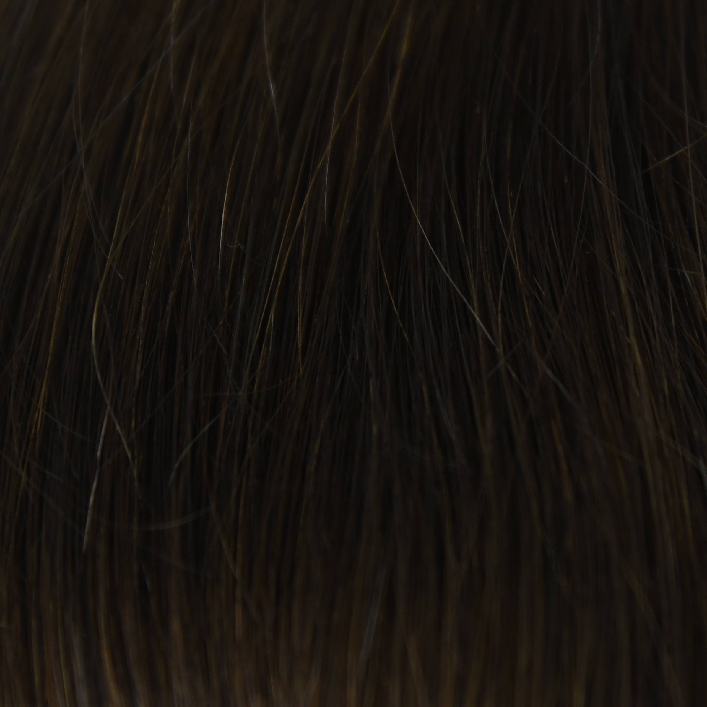 black hair extensions color sample in hair color chart