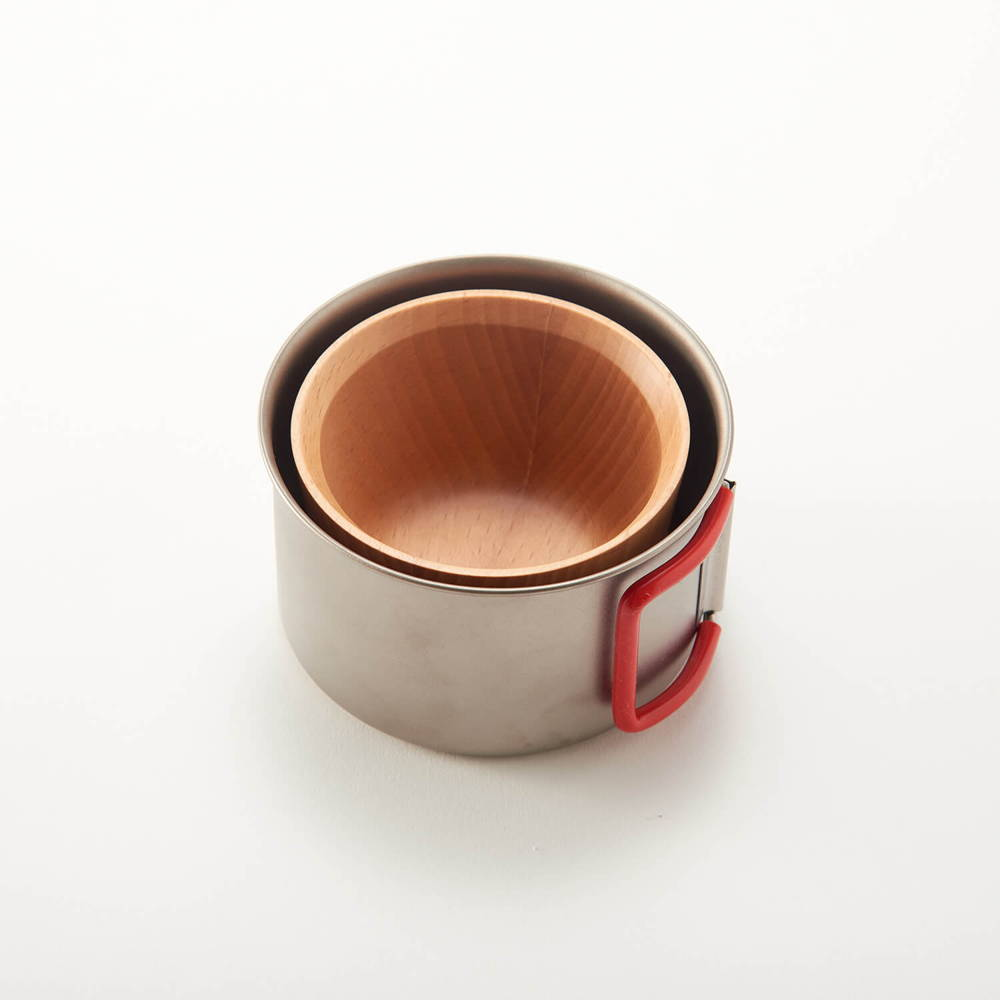 EVERNEW(エバニュー)/チタンカップ 400FD RED/400ml