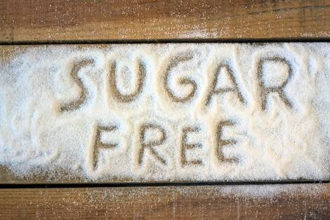 Vegetarische Diät ohne Zucker