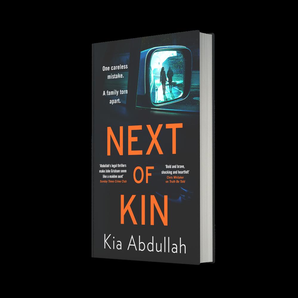 hardback copy of Next of Kin