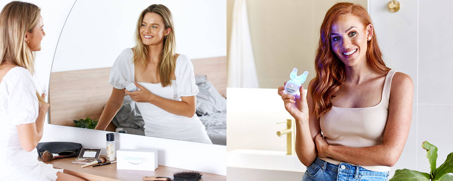 SmilePro at home advanced teeth whitening kits.