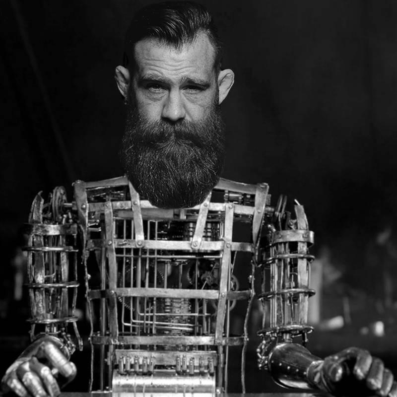 Savage Gentleman Josh Tyler Bearded Robot Automaton