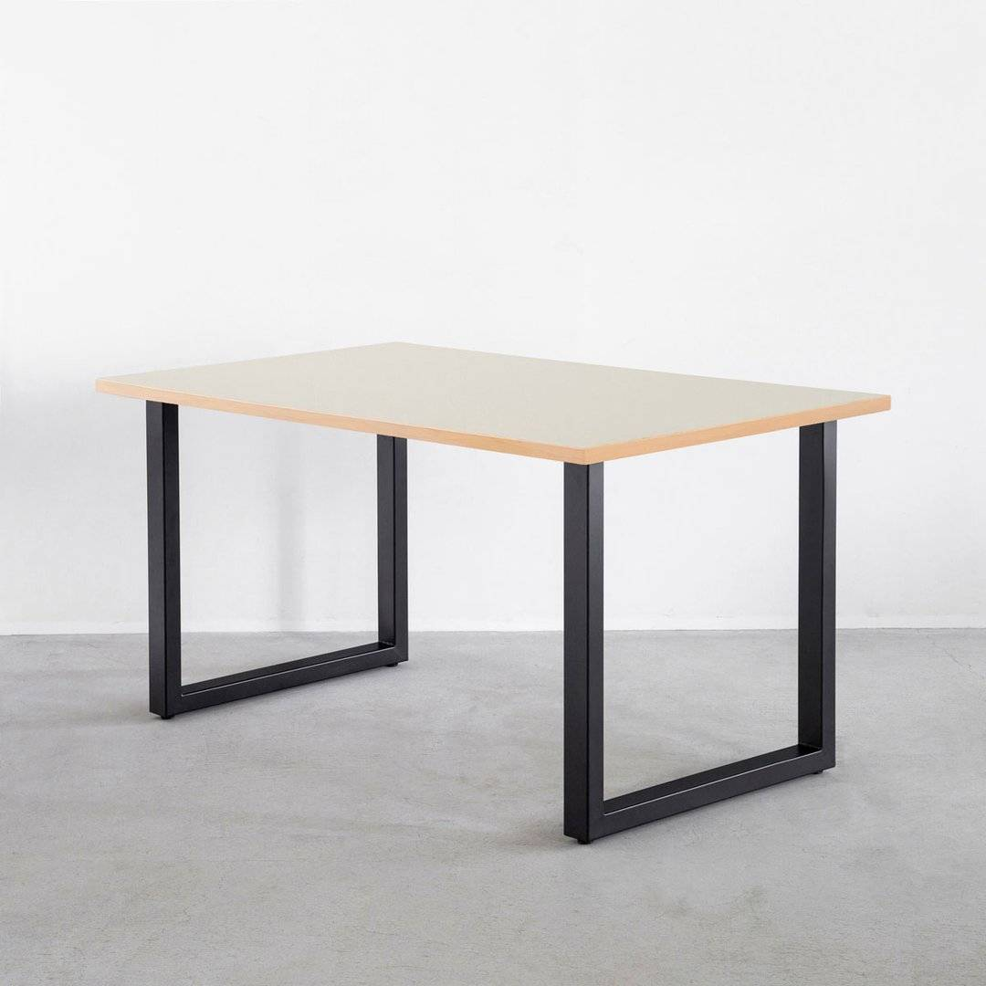 THE TABLE / リノリウム Mushroom × Black Steel
