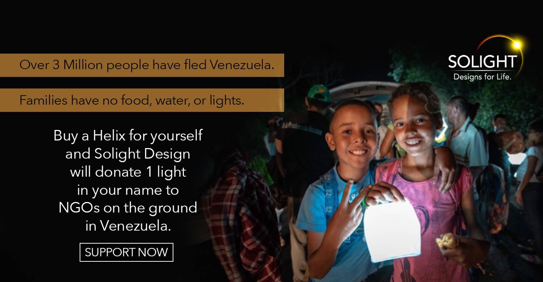 Donate a light to Venezuela