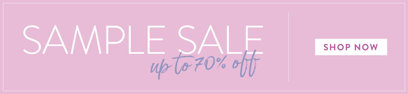 Sample Sale   Up to 70% Off