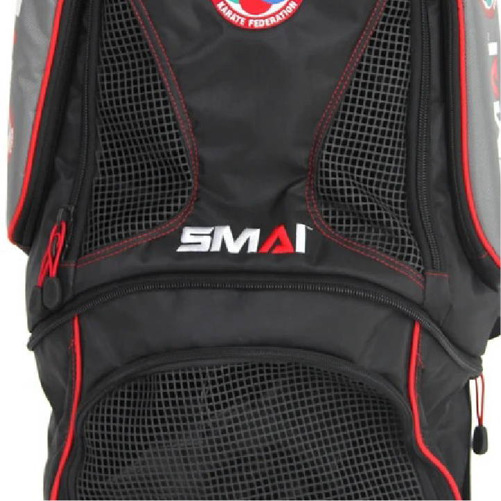 breathable inserts world karate federation performance backpack