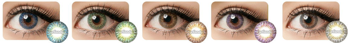 e496e24801 GEO Tri Color eye contact lenses work perfectly for dark brown or black eyes