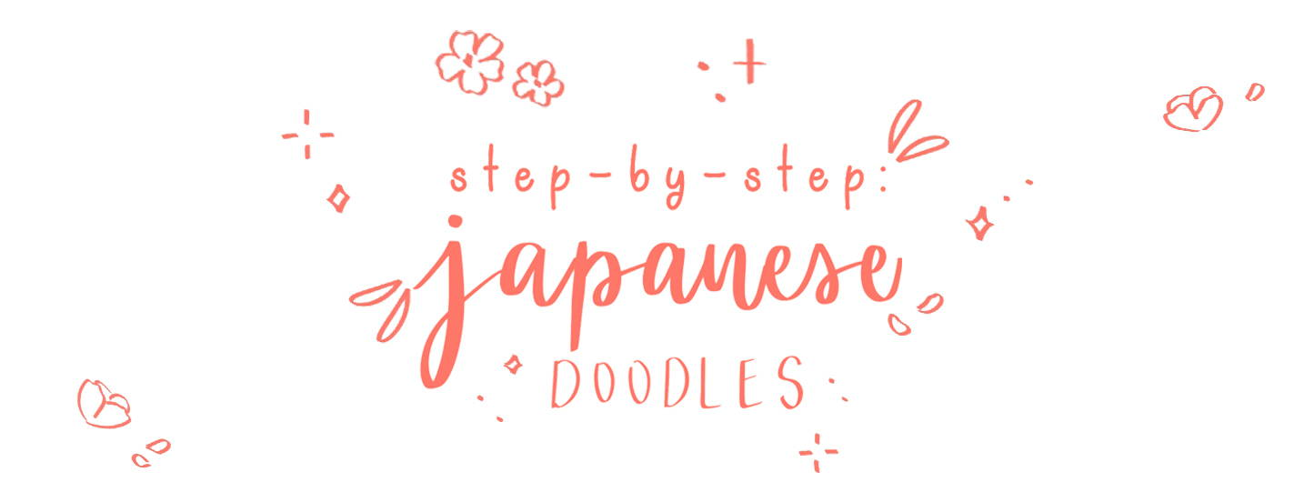 step by step japanese doodles