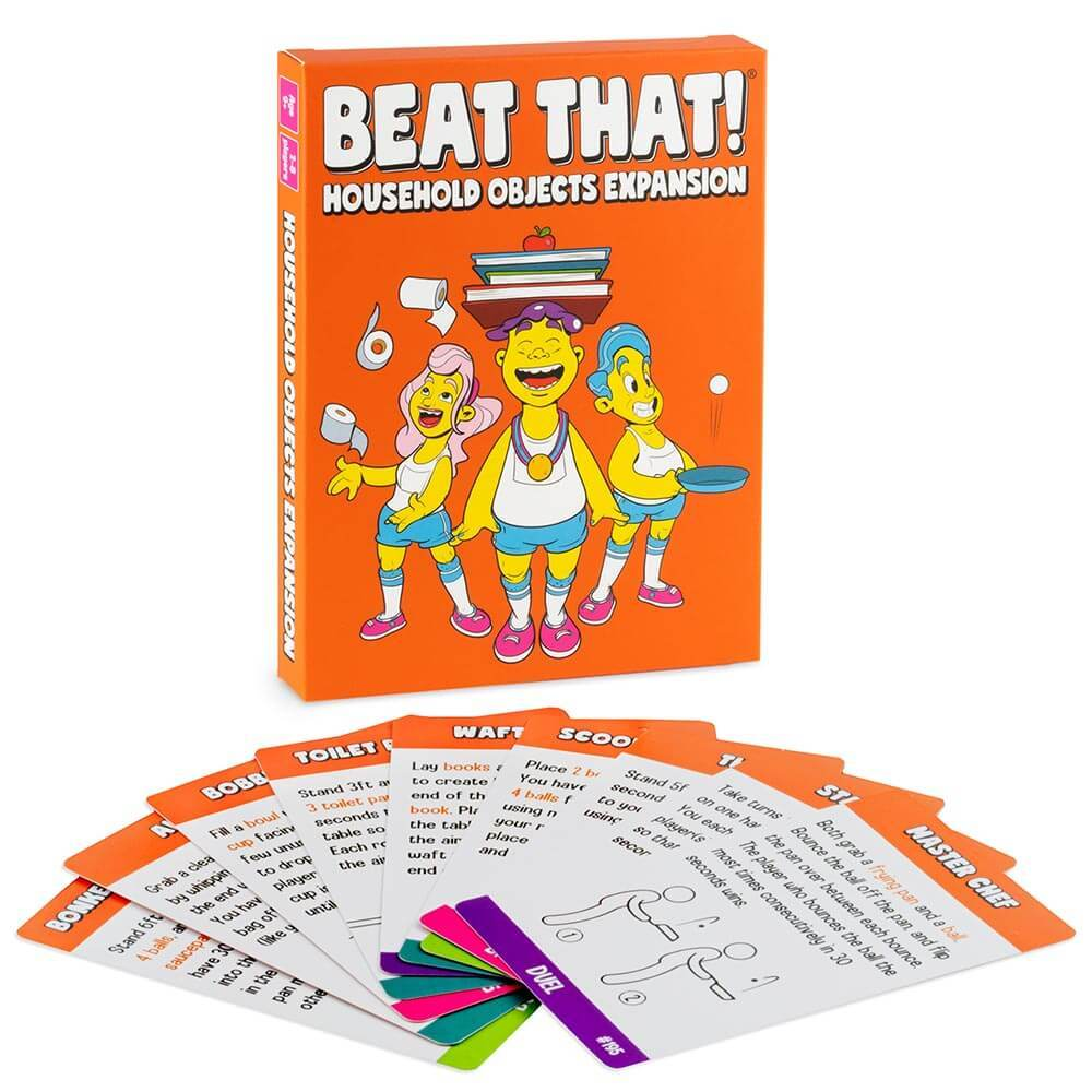 Beat That! Expansion Pack with playing cards