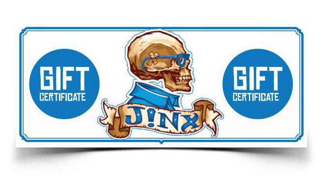 J!NX Gift Certificate