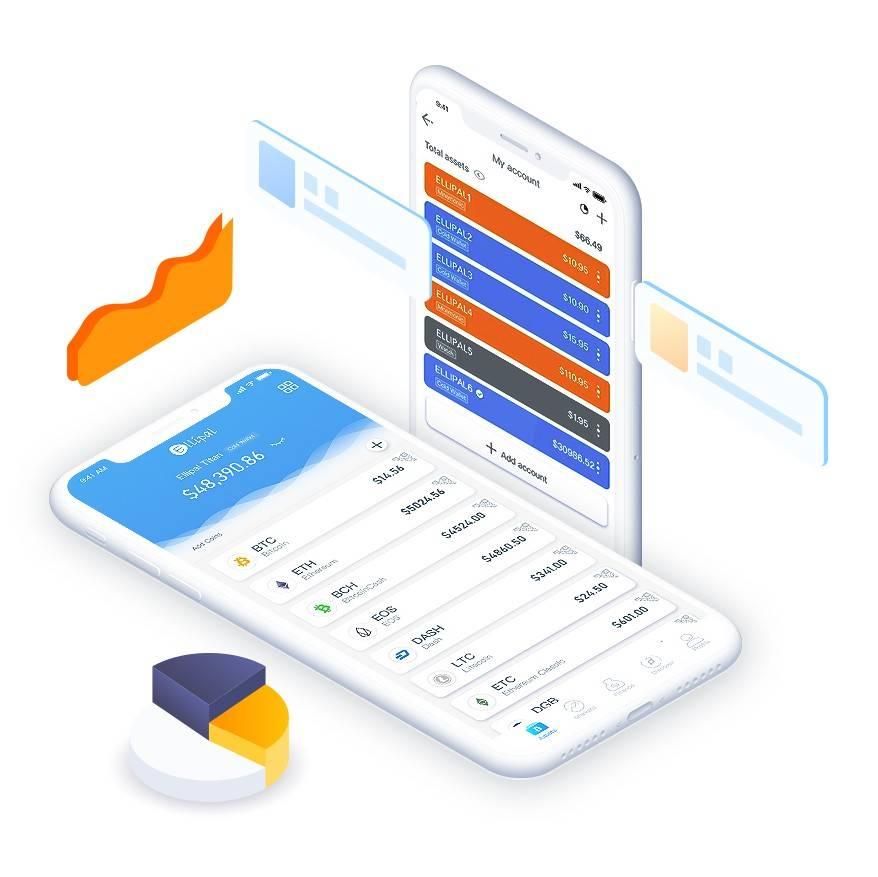 ELLIPAL App works alone as a hot wallet